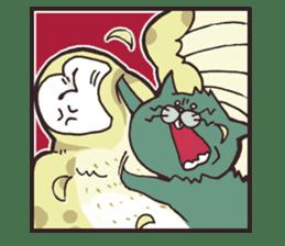 yamaimo & kagishippo sticker #201066
