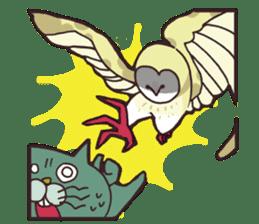 yamaimo & kagishippo sticker #201067