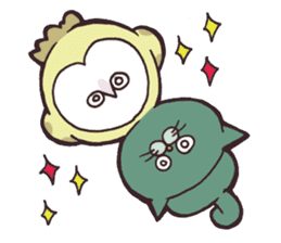 yamaimo & kagishippo sticker #201074