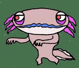 Mr.Mexico salamander sticker #201606
