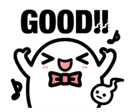 Charlie the ghost sticker #201805