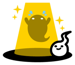 Charlie the ghost sticker #201821