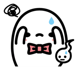 Charlie the ghost sticker #201830