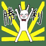 Rabbit sticker #202130