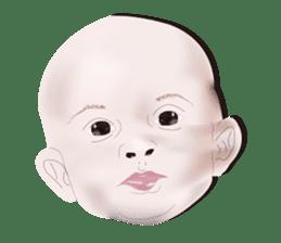 bold babys sticker #202782