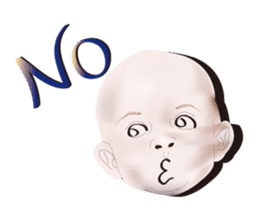 bold babys sticker #202786