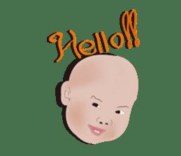 bold babys sticker #202787