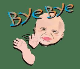 bold babys sticker #202805