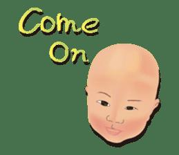 bold babys sticker #202811