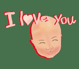 bold babys sticker #202816