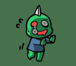 Are you still alive? Zombie-kun! sticker #202937