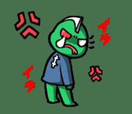 Are you still alive? Zombie-kun! sticker #202939
