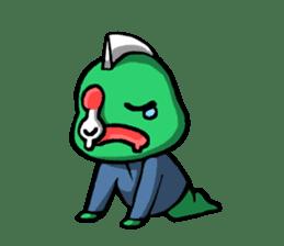 Are you still alive? Zombie-kun! sticker #202961