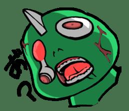Are you still alive? Zombie-kun! sticker #202976