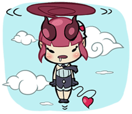 LILIN! The Demon Girl! sticker #203313
