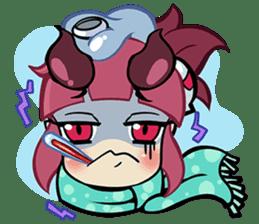 LILIN! The Demon Girl! sticker #203319