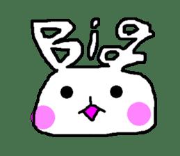mojiusagi sticker #203584