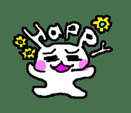 mojiusagi sticker #203603