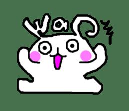 mojiusagi sticker #203607