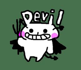 mojiusagi sticker #203616