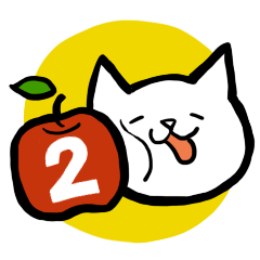 cat and apple2English