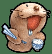Happy seal sticker #204147