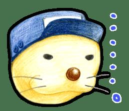 Happy seal sticker #204153
