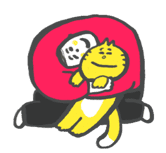 """Live with my """"Meow"""" sticker #204290"""
