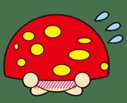 circle face 12 mushroom part 1 sticker #204383