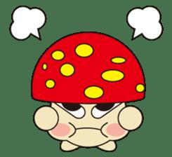 circle face 12 mushroom part 1 sticker #204386