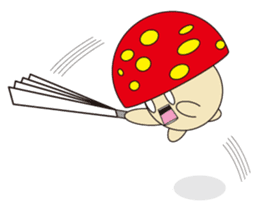 circle face 12 mushroom part 1 sticker #204389