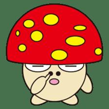 circle face 12 mushroom part 1 sticker #204393