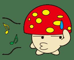 circle face 12 mushroom part 1 sticker #204395