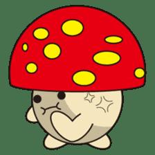 circle face 12 mushroom part 1 sticker #204398