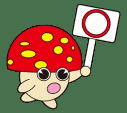circle face 12 mushroom part 1 sticker #204402