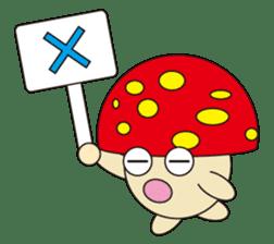 circle face 12 mushroom part 1 sticker #204403
