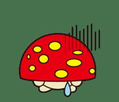 circle face 12 mushroom part 1 sticker #204406