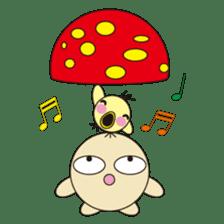 circle face 12 mushroom part 1 sticker #204415
