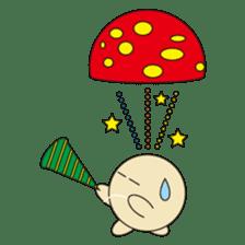 circle face 12 mushroom part 1 sticker #204416