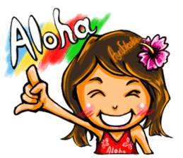 ArtRJ: HAWAII & Surfing (world.var) sticker #204702