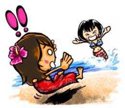 ArtRJ: HAWAII & Surfing (world.var) sticker #204712