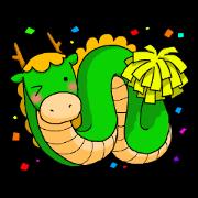 สติ๊กเกอร์ไลน์ Oriental Zodiac