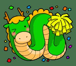 Oriental Zodiac sticker #204865
