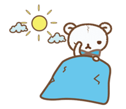 Art teddy bear sticker #205442