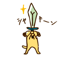 Day-to-day Yoshida teacher sticker #206162