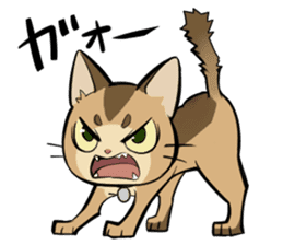 Abyssinian's hinata sticker #206309