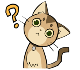 Abyssinian's hinata sticker #206312