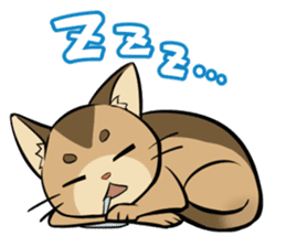 Abyssinian's hinata sticker #206317