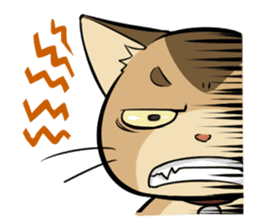 Abyssinian's hinata sticker #206320