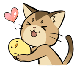 Abyssinian's hinata sticker #206321